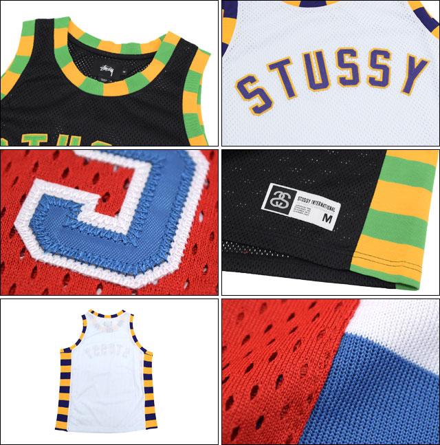 供suteyushi STUSSY短袖汗衫人Swingman Basketball(stussy tank top短袖汗衫顶端人、男性使用的114809二海洋朱熹)