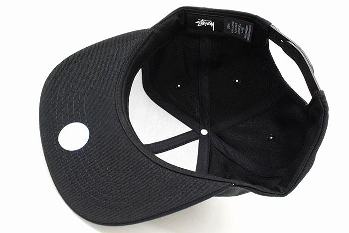 ステューシー STUSSY キャップ 帽子 SP19 Stock Snapback Cap(スナップバック メンズ・男性用 131868 131850 USAモデル 正規 品 ストゥーシー スチューシー) ice filed icefield