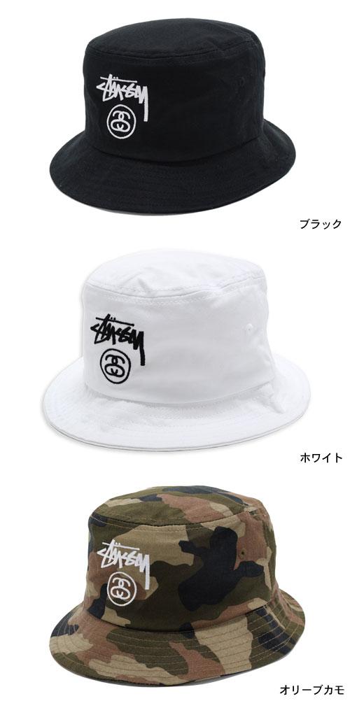 ステューシーSTUSSY バケットハットStockLockHO15BucketHat帽子(stussyhatメンズ・男性用132651132668USAモデル正規品 dc1325c8e613