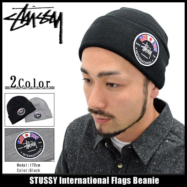 Stussy STUSSY knit Cap International Flags (stussy beanie Beanie Hat Cap  mens 97889948e0e