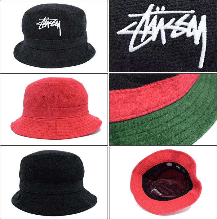 楽天市場 ステューシー STUSSY バケット ハット Stock Terry Bucket Hat ... 22b529350326
