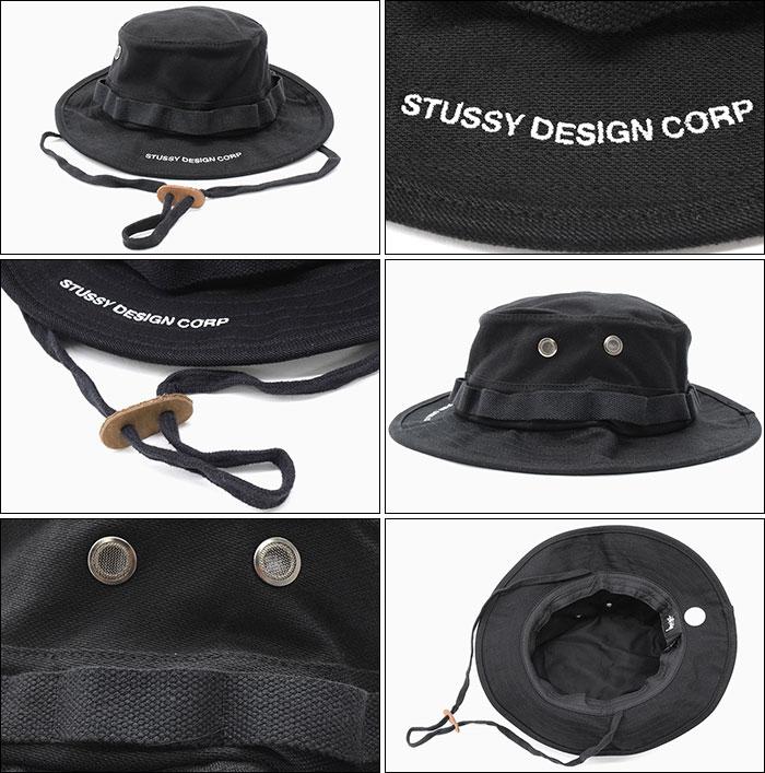 989bf7491ff 楽天市場 ステューシー STUSSY ハット Jungle Cloth Boonie Hat 帽子 ...