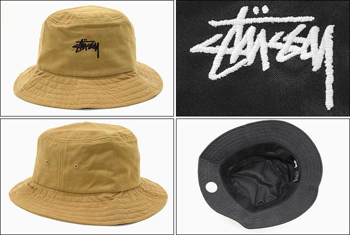 楽天市場 ステューシー STUSSY バケット ハット Stock Bucket Hat 帽子 ... 6e5d7ffa47f2