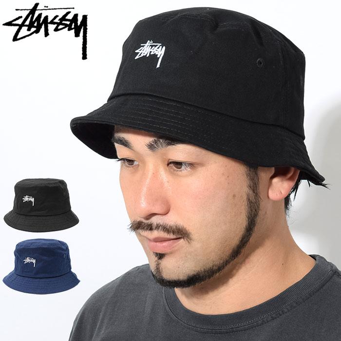 楽天市場 ステューシー STUSSY バケット ハット HO18 Stock Bucket Hat ... c2138e2b17b3