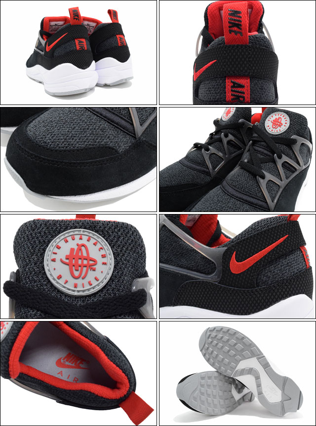 126b765d6eef Nike NIKE sneakers mens men s air halti Lite Black University Red Wolf Grey  Limited Edition (nike AIR HUARACHE LIGHT NSW BEST SNEAKER MENS-shoes shoes  SHOES ...