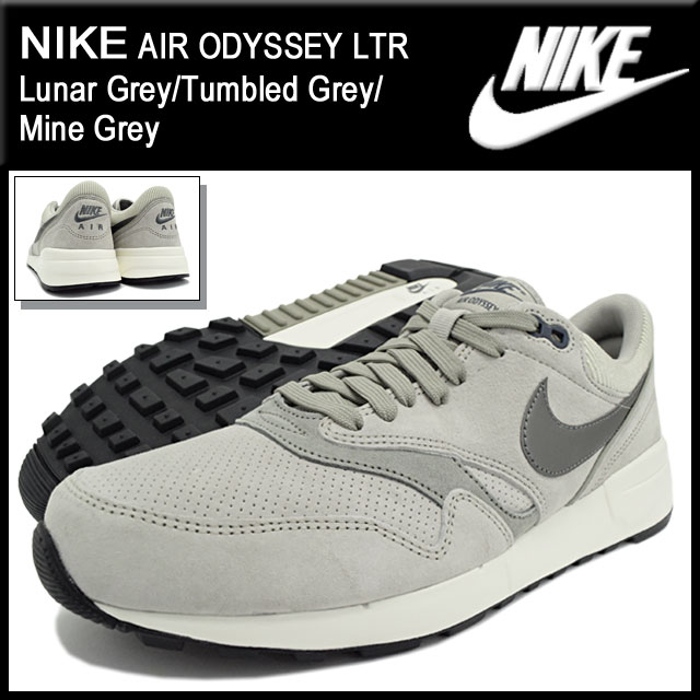 afb4275ab6d9 Nike NIKE sneakers mens men s air Odyssey leather Lunar Grey Tumbled Grey Mine  Grey (nike AIR ODYSSEY LTR grey gray SNEAKER MENS-shoes shoes SHOES ...