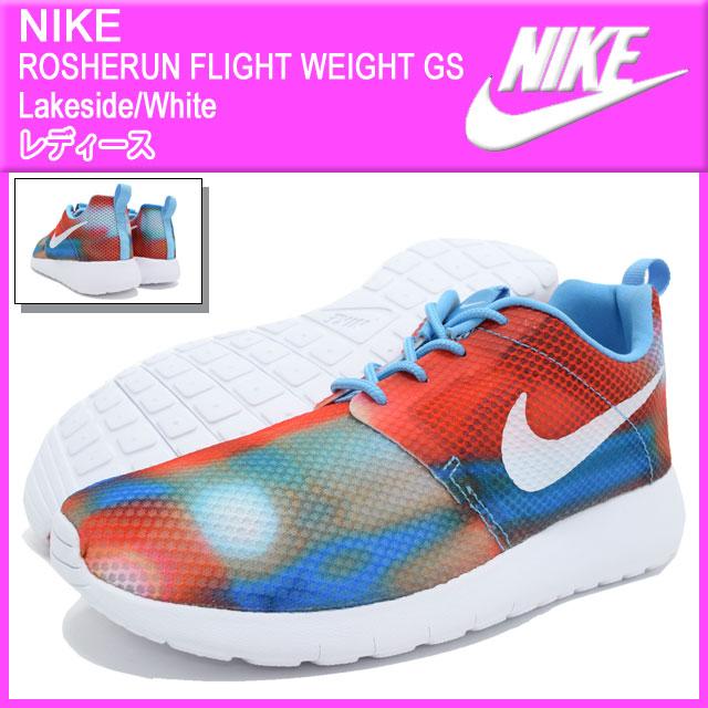 c6124fd59d17 Nike NIKE sneakers Womens Dancewear Roslin flight weight GS Lakeside White nike  ROSHERUN FLIGHT WEIGHT GS Orange multi SNEAKER LADIES-shoes shoes SHOES ...