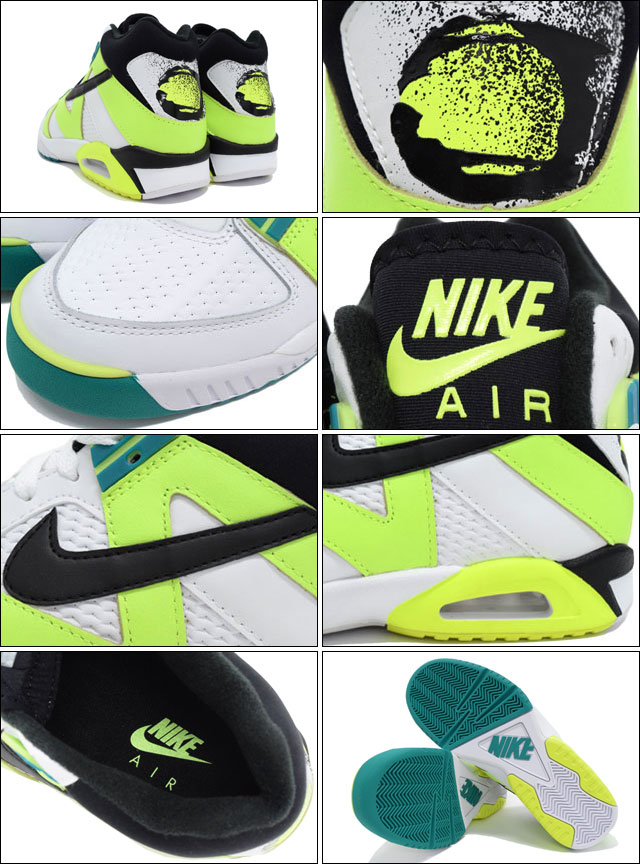 Nike NIKE sneakers mens men s air tech challenge 3 White Black Volt Emerald  limited edition nike AIR TECH CHALLENGE III NSW BEST white white SNEAKER ... 27d3c910ad0d
