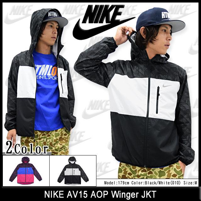 67e871b30ac Nike NIKE jacket mens AV15 AOP Winger (nike AV15 AOP Winger JKT JACKET  JAKET outer jumper   blouson jacket nylon windbreaker men s 679694) ice  filed ...