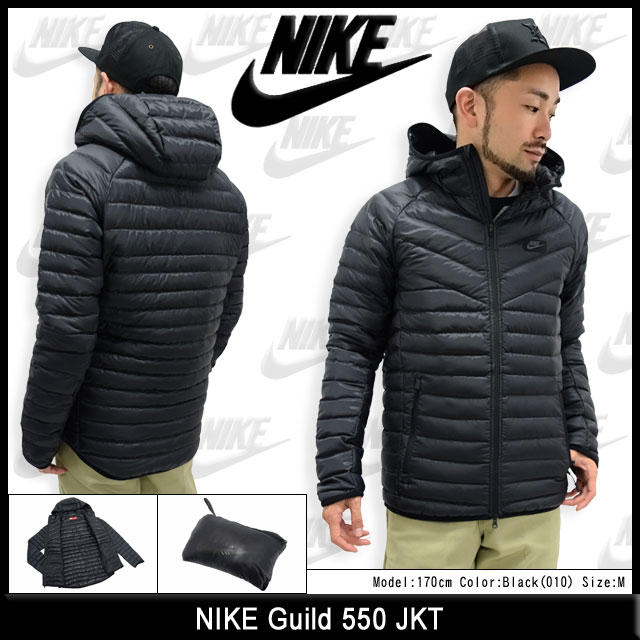 Mens Nike Guild 550 Black Jacket