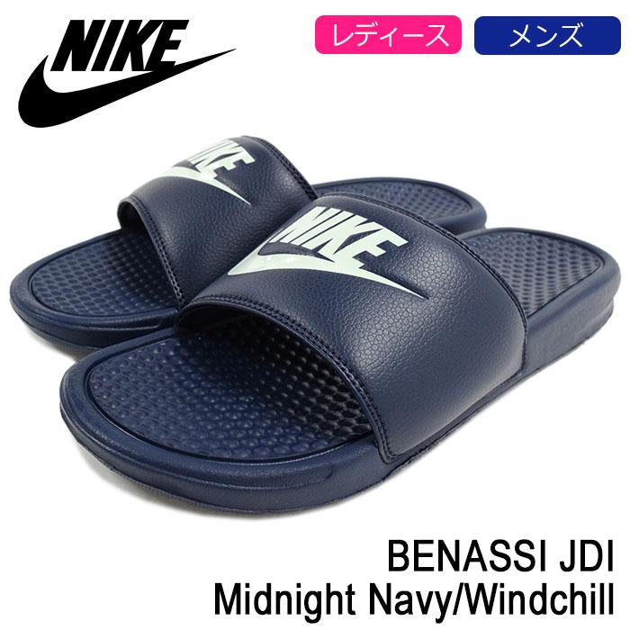 Nike NIKE Sandals Benassi JDI Midnight Navy/Windchill men (men's) (nike  BENASSI JDI Midnight Navy/Windchill 343880 – 403) ice filed icefield