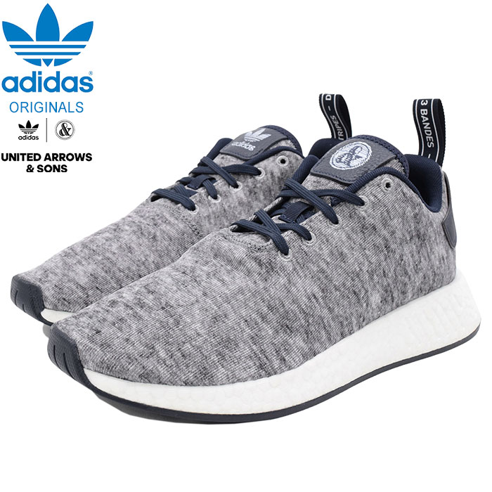 brand new 8942a bf405 UNITED ARROWS and Suns nomad R2 UAS Core Heather/Matte Silver/White  collaboration originals for the Adidas adidas sneakers men man (UNITED  ARROWS & ...