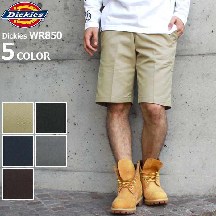 f84fc1ee13 Men (DICKIES WR850 11inch Regular Fit Work Short half underwear short pants  bottom Strunk's WR850 ...