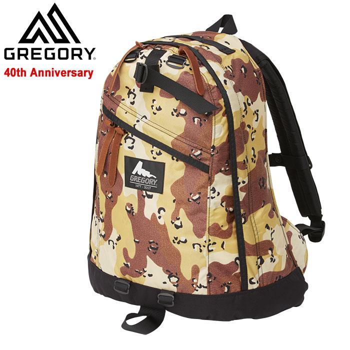 グレゴリー GREGORY リュック デイパック シルバータグ(gregory 40周年 Daypack Silver Tag チョコチップカモ Bag バッグ Backpack バックパック メンズ レディース ユニセックス 男女兼用 895946328)