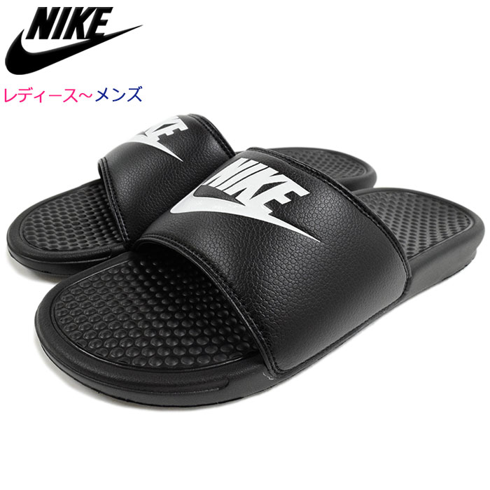 2d24fc4e3931 Nike NIKE sandals Lady s   メンズベナッシ JDI Black White(nike BENASSI JDI shower  sandals sports sandals black black SANDAL LADIES MENS