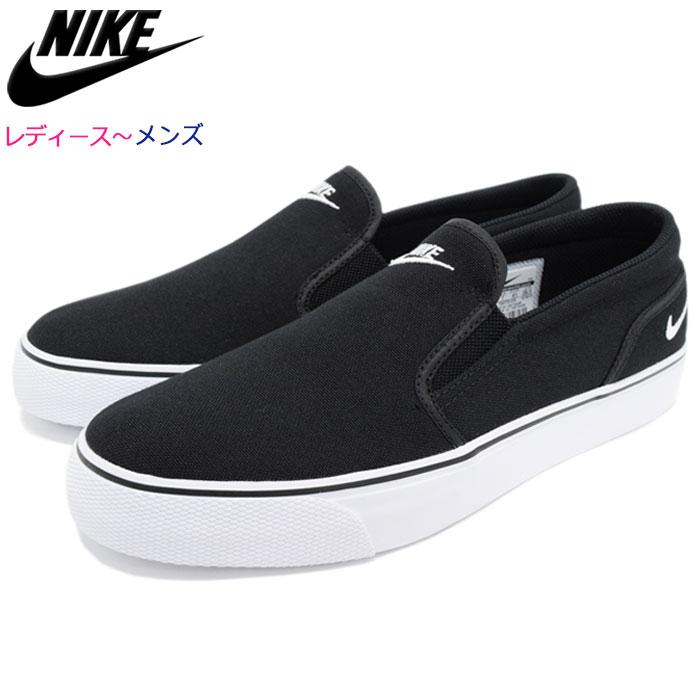 5d4352201bcc Nike NIKE sneakers Lady s   men women Toki slip canvas Black White(nike  WMNS TOKI SLIP CANVAS slip-ons WOMENS women black black SNEAKER LADIES  MENS