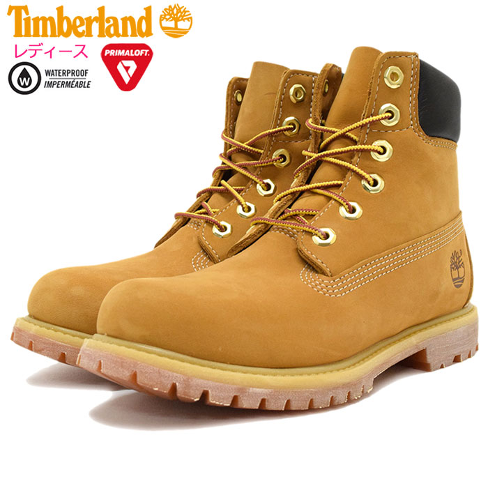 Timberland Timberland Womens boots オーセンティックス roll top wheat polka dots (timberland Womens ROLL TOP Wheat Polkadots Boot BOOT BOOTS women's 8135A and