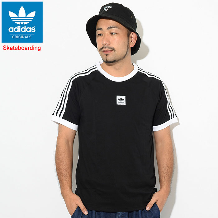 Adidas adidas raglan sleeves short sleeves men Cali 2.0 originals (EC7375 for the adidas Cali 2.0 SS Raglan Originals Skateboarding skateboarding Tee