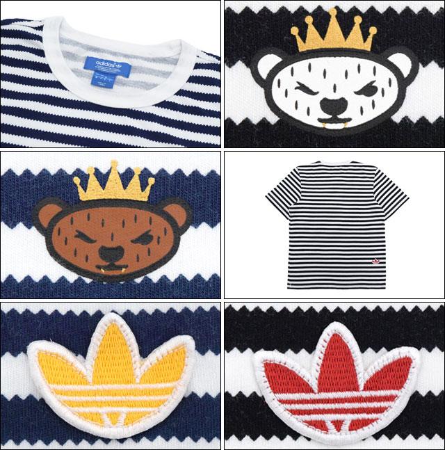 b0be0ced6d9 ... Adidas originals x NIGO adidas Originals by NIGO T shirt short sleeve  men's striped collaboration originals