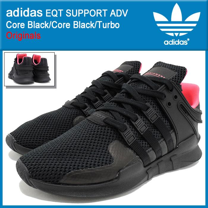 アディダス adidas スニーカー メンズ 男性用 エキップメント サポート ADV Core Black/Core Black オリジナルス(adidas EQT SUPPORT ADV Originals EQUIPMENT ランニングシューズ ブラック 黒 靴 シューズ SHOES BB1300)