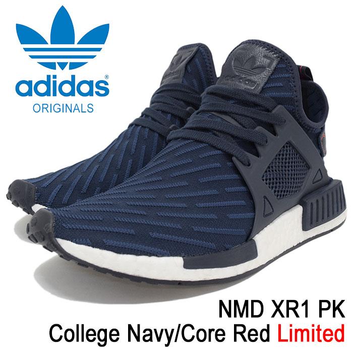 【7時間セール9/10】【50%OFF】アディダス adidas スニーカー メンズ 男性用 ノマド XR1 PK College Navy/Core Red オリジナルス(adidas NMD XR1 PK Limited Originals NMD_XR1 PK エヌ エム ディー ネイビー 紺 SNEAKER MENS・靴 シューズ SHOES BA7215)