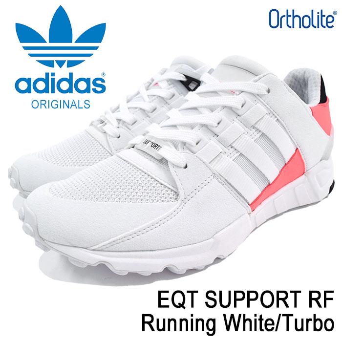 アディダス adidas スニーカー メンズ 男性用 エキップメント サポート RF Running White/Turbo オリジナルス(adidas EQT SUPPORT RF Originals EQUIPMENT ランニングシューズ ホワイト 白 靴 シューズ SHOES BA7716)