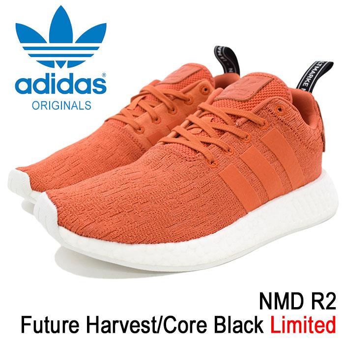 アディダス adidas スニーカー メンズ 男性用 ノマド R2 Future Harvest/Core Black オリジナルス(adidas NMD R2 Limited Originals NMD_R2 エヌ エム ディー オレンジ SNEAKER MENS・靴 シューズ SHOES BY9915)