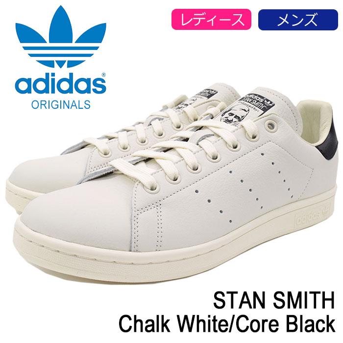 アディダス adidas スタンスミス スニーカー レディース & メンズ スタンスミス レディース Chalk White SMITH/Core Black オリジナルス(adidas STAN SMITH Originals オフホワイト ホワイト 白/黒 SNEAKER LADIES MENS・靴 シューズ SHOES B37897), HAPPYCRAFT:c697db99 --- sayselfiee.com