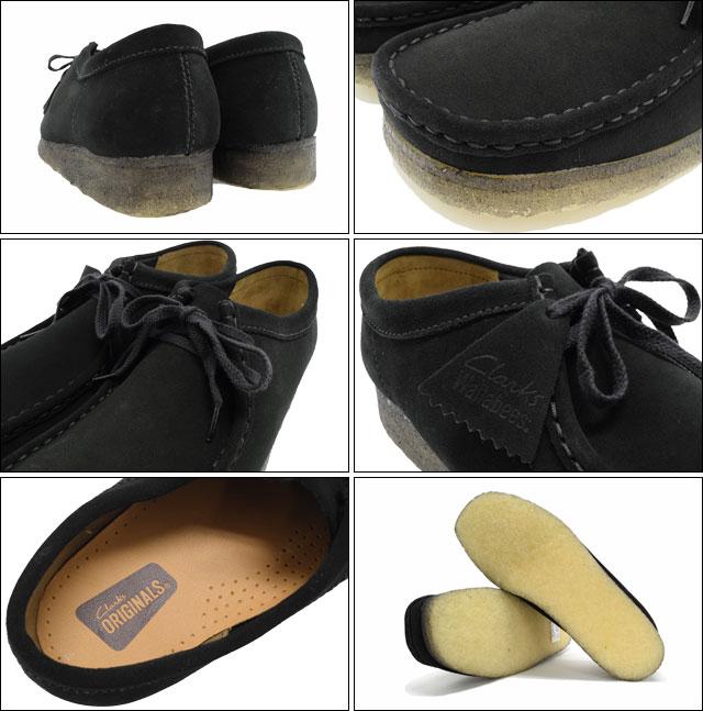 克拉克克拉克斯靴男装男式黑色麂皮绒小袋鼠 (clarks 原件方励黑色麂皮绒原件靴子靴子小袋鼠靴子黑色皮靴男鞋鞋鞋 26103948) 冰提起冰原