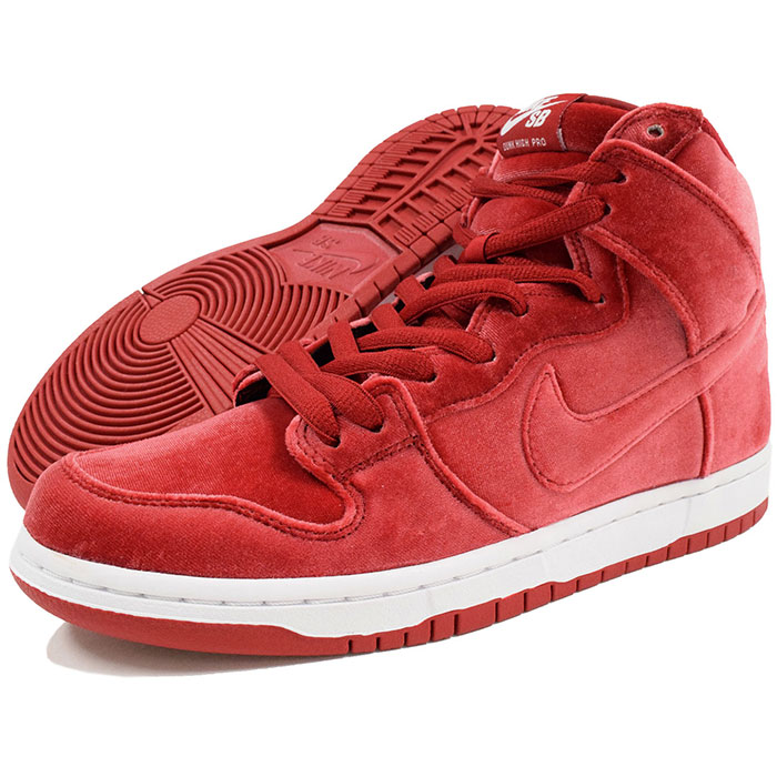 timeless design d266d 9ab6f Dunk high premium SB Gym Red/White SB (nike DUNK HIGH PREMIUM SB RED VELVET  red velvet red red SNEAKER MENS, shoes shoes SHOES 313,171-661) ice filed  ...