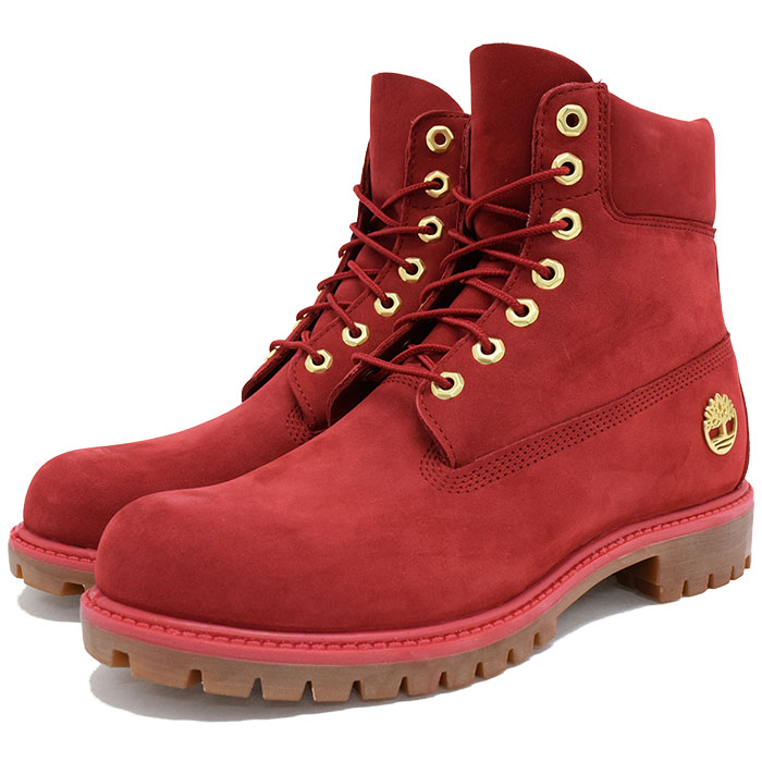 567bad1c32d 6 inches of Timberland Timberland boots men icons premium 40th ruby  waterbuck (timberland A1JLT ICON 6inch Premium Boot 40th Ruby Waterbuck  Valentine ...