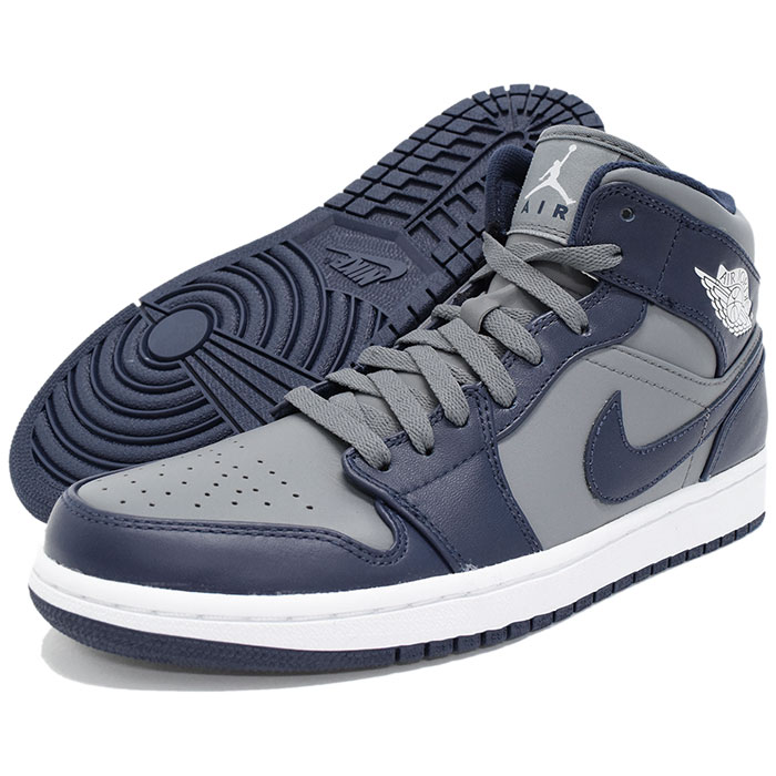 5b4fc3d77aca43 Nike NIKE sneakers Air Jordan 1 mid Cool Grey Midnight Navy men (men s) (nike  NIKE AIR JORDAN 1 MID College Pack Sneaker sneaker SNEAKER MENS-shoes shoes  ...