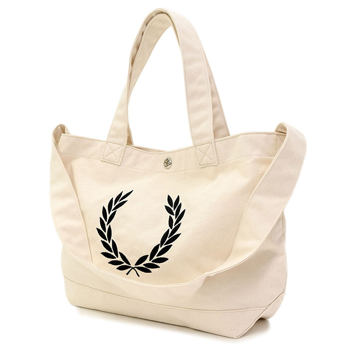 dd437f3ae Fred Perry FRED PERRY tote bag Laurel Lee scan bus tote bag plan (FREDPERRY  F9528 ...