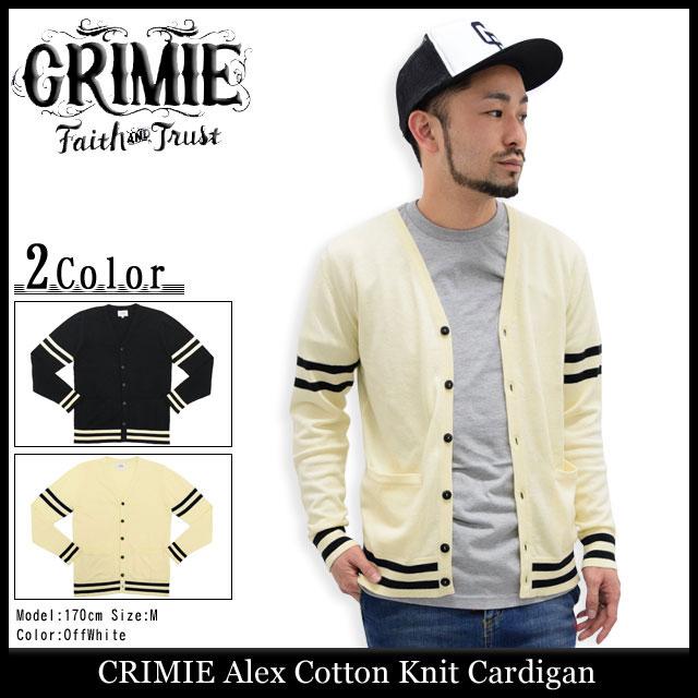 クライミー CRIMIE アレックス コットン ニット カーディガン(crimie Alex Cotton Knit Cardigan)