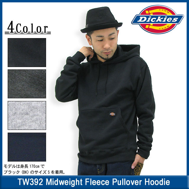 aa4289231c ... Dickies Dickies TW392 mid-weight fleece pullover Hoodie men's men (DICKIES  dickies TW392 Midweight ...