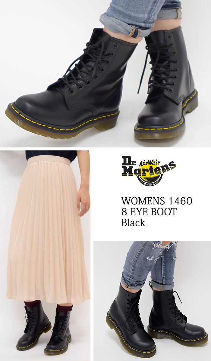 3f8d74814 ... 1460 8 1460 8 8 doctor Martin Dr.Martens women eye boots black Lady's  ...