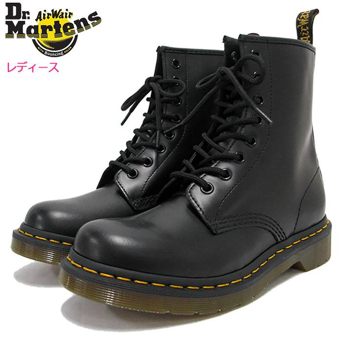 ドクターマーチン Dr.Martens ブーツ 8ホール レディース 女性用 ウィメンズ 1460 8アイ ブーツ ブラック(DR.MARTENS WOMENS 1460 8 EYE BOOT Black 8ホール ドクター マーチン BOOTS ドクター・マーチン マーティン 靴・ブーツ R11821006)
