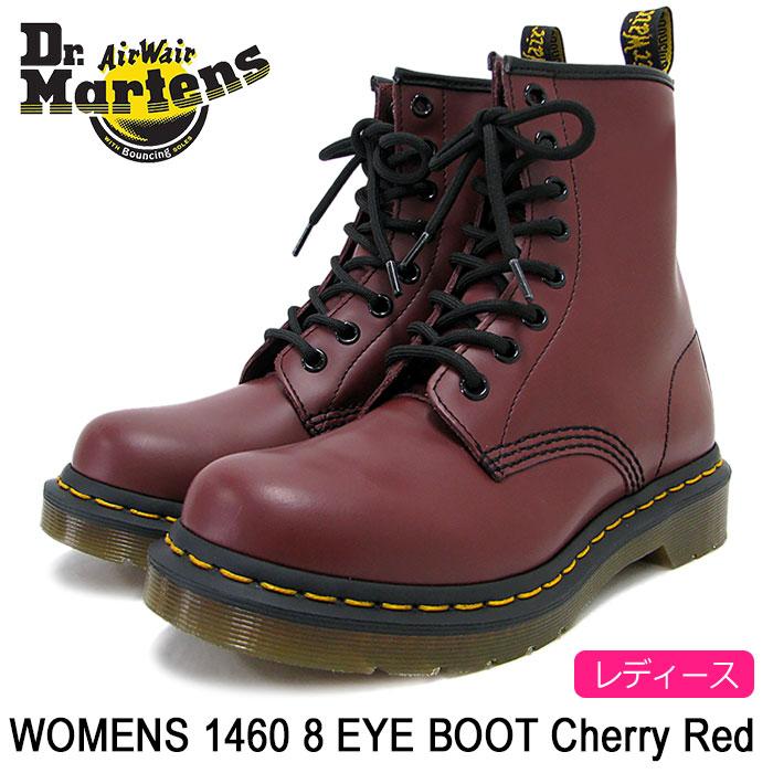 ドクターマーチン Dr.Martens ブーツ 8ホール レディース 女性用 ウィメンズ 1460 8アイ ブーツ チェリーレッド(DR.MARTENS WOMENS 1460 8 EYE BOOT Cherry Red 8ホール ドクター マーチン BOOTS ドクター・マーチン マーティン 靴・ブーツ R11821600)