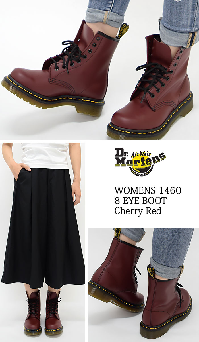 6d76866fa ... 1460 8 1460 8 8 doctor Martin Dr.Martens women eye boots cherry red  Lady's ...