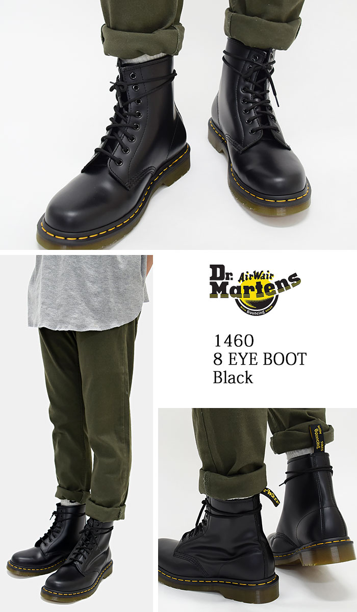 c5769e3510c ... 1460 8 8 1460 8 doctor Martin Dr.Martens eye boots black men (dr ...