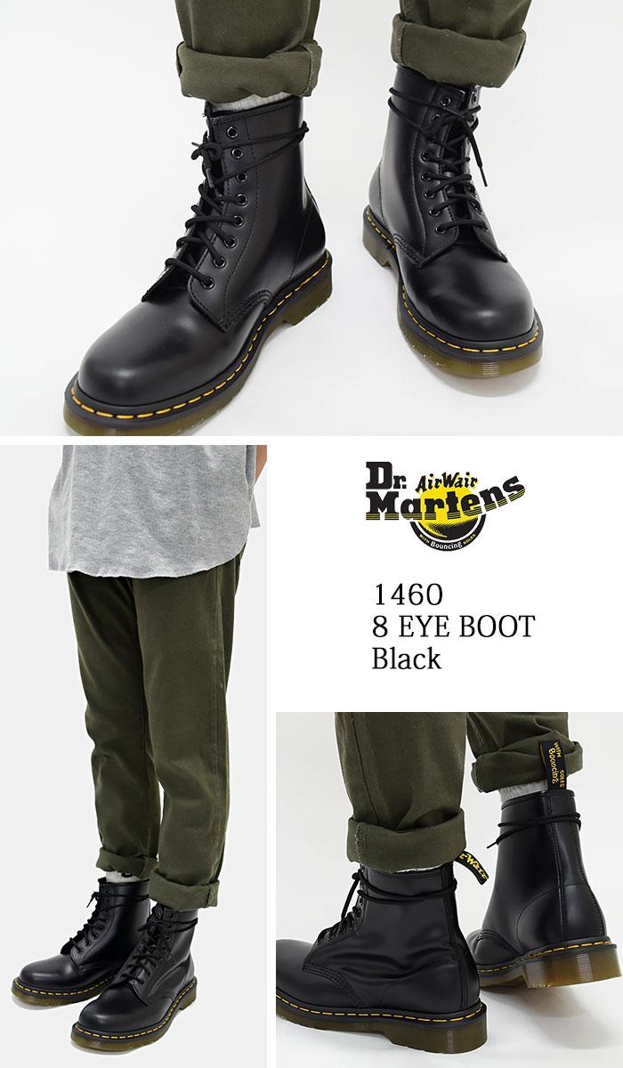 1460 8 8 1460 8 doctor Martin Dr.Martens eye boots black men (dr.martens DR. MARTENS EYE BOOT Black hall doctor Martin BOOTS doctor Martin race up boots  men ... 8355f40593d8