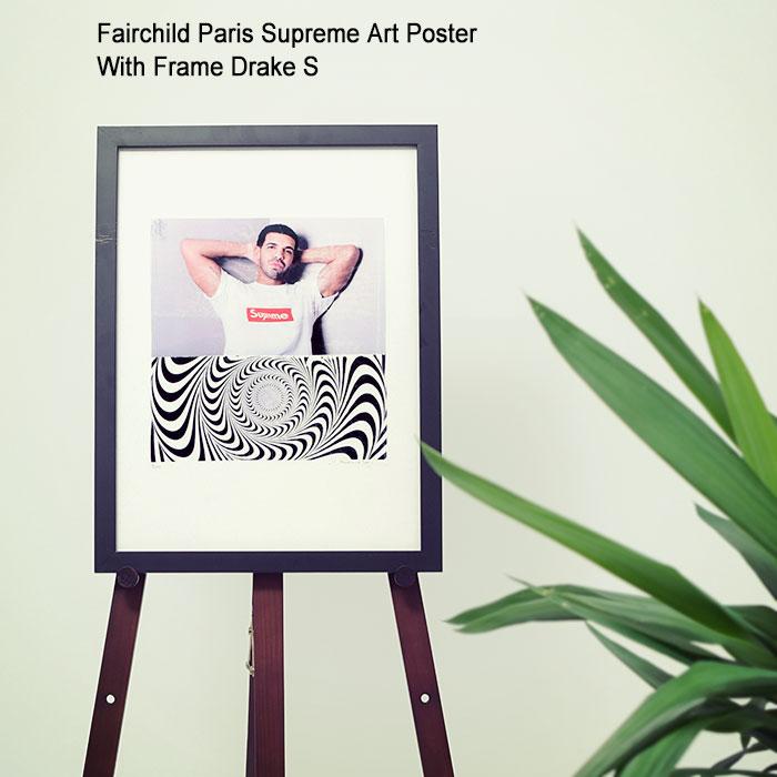 フェアチャイルド パリ Fairchild Paris ドレイク S ポスター シュプリーム アート ポスター ウィズ フレーム(Fairchild Paris Supreme Art Poster With Frame Drake S インテリア LW1004-S-12)[I便], 多良木町:4d119393 --- heartstyle.jp