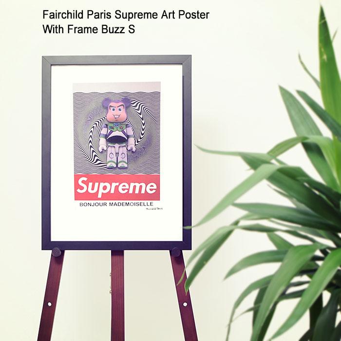 フェアチャイルド パリ Fairchild Paris バズ S ポスター シュプリーム アート ポスター ウィズ フレーム(Supreme Art Poster With Frame Buzz S Toy Story トイ・ストーリー Buzz Lightyear バズ・ライトイヤー インテリア SUP9-12)[I便]