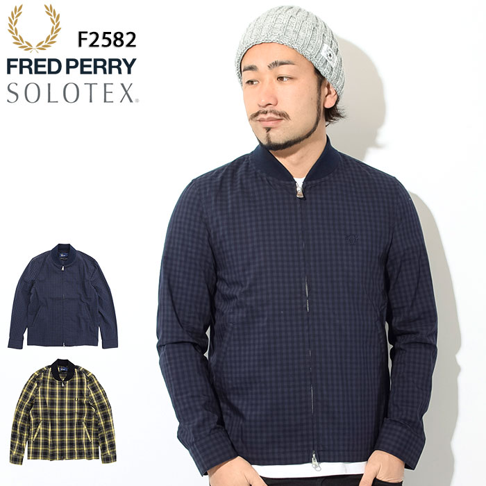 フレッドペリー FRED PERRY ジャケット メンズ シャツ ボンバー 日本企画(FREDPERRY F2582 Shirt Bomber JKT JAPAN LIMITED JACKET アウター ジャンパー・ブルゾン フレッド ペリー フレッド・ペリー)
