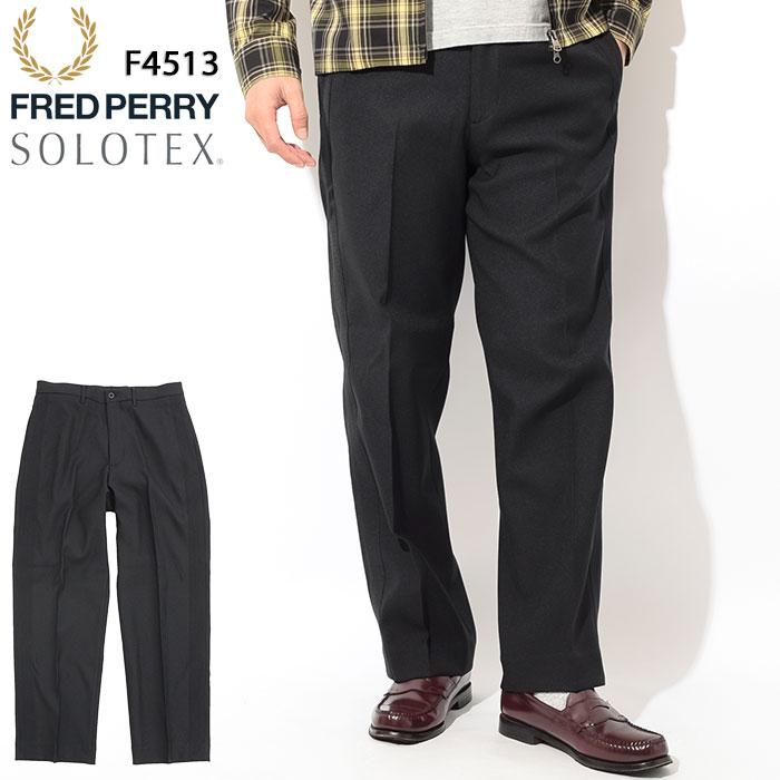 フレッドペリー FRED PERRY パンツ メンズ サイド ストライプ トラウザーズ 日本企画(FREDPERRY F4513 Side Stripe Trousers Pant ボトムス フレッド ペリー フレッド・ペリー) ice filed icefield