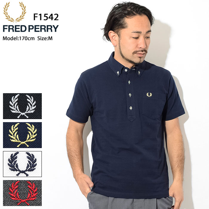 0e551050 Father's Day gift possible Fred Perry FRED PERRY polo shirt short sleeves  men picket Japan plan ...