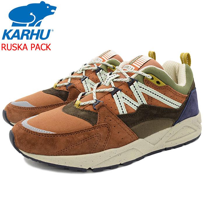 カルフ KARHU スニーカー メンズ 男性用 フュージョン 2.0 Turtoise Shell/Bracken ルスカパック(karhu FUSION 2.0 RUSKA PACK ダッドシューズ ダッドスニーカー SNEAKER MENS・靴 シューズ SHOES KH804042 F804042) ice filed icefield