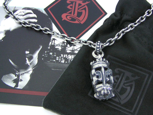 L.S.D(エルエスディー) LDN-011 Silver Necklace ice filed icefield