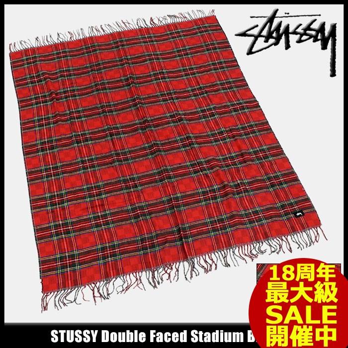 ステューシー STUSSY ブランケット Double Faced Stadium(stussy Blanket ひざ掛け メンズ・男性用 138619 USAモデル 正規 品 ストゥーシー スチューシー 小物) ice filed icefield