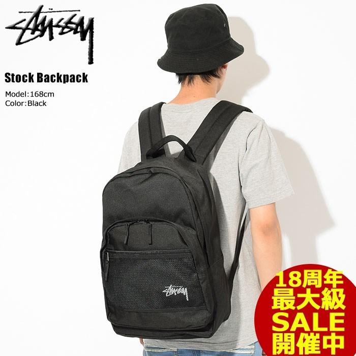 ステューシー STUSSY リュック Stock(stussy backpack バックパック Daypack デイパック Bag バッグ 普段使い 通勤 通学 旅行 メンズ レディース ユニセックス 男女兼用 133018 USAモデル 正規 品 ストゥーシー スチューシー 小物) ice filed icefield
